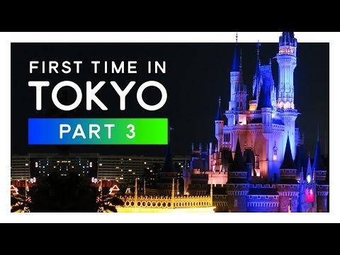 Exploring DISNEY LAND Tokyo (incl. three Parades) FIRST TIME IN TOKYO #3
