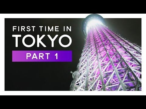 TOKYO Travel: Arriving, Skytree, Shibuja and Meiji Jingu - FIRST TIME IN TOKYO #1