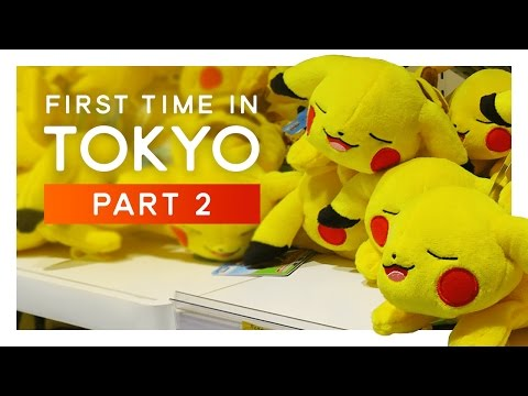 Exploring POKEMON Center - FIRST TIME IN TOKYO #2