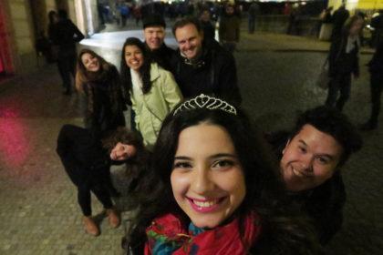 Enjoying an amazing evening wit great friends in Prague