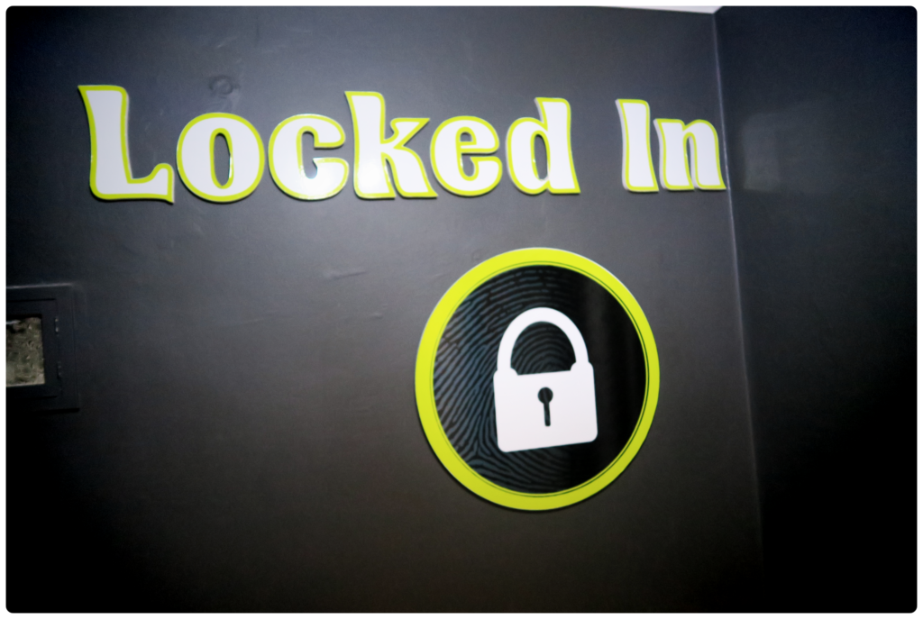 Locked In or locked out? Finding escape rooms was not that easy