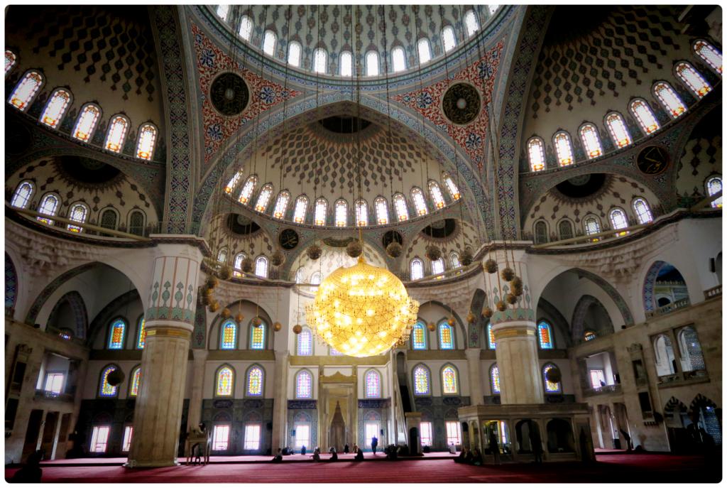 The stunning Kocatepe Mosque