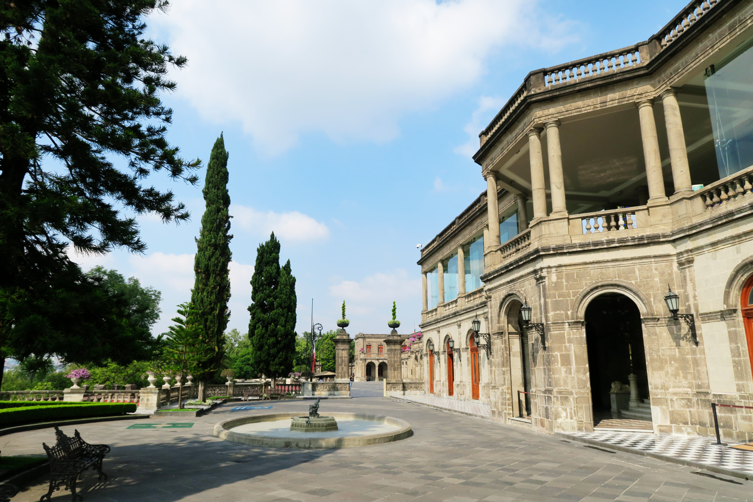Chapultepec Castle The Austrian Castle In The Heart Of
