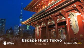 """Bears' Escape """"Escape Hunt"""" in Tokyo"""