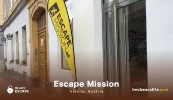 "Bears' Escape ""Escape Mission"" in Vienna"