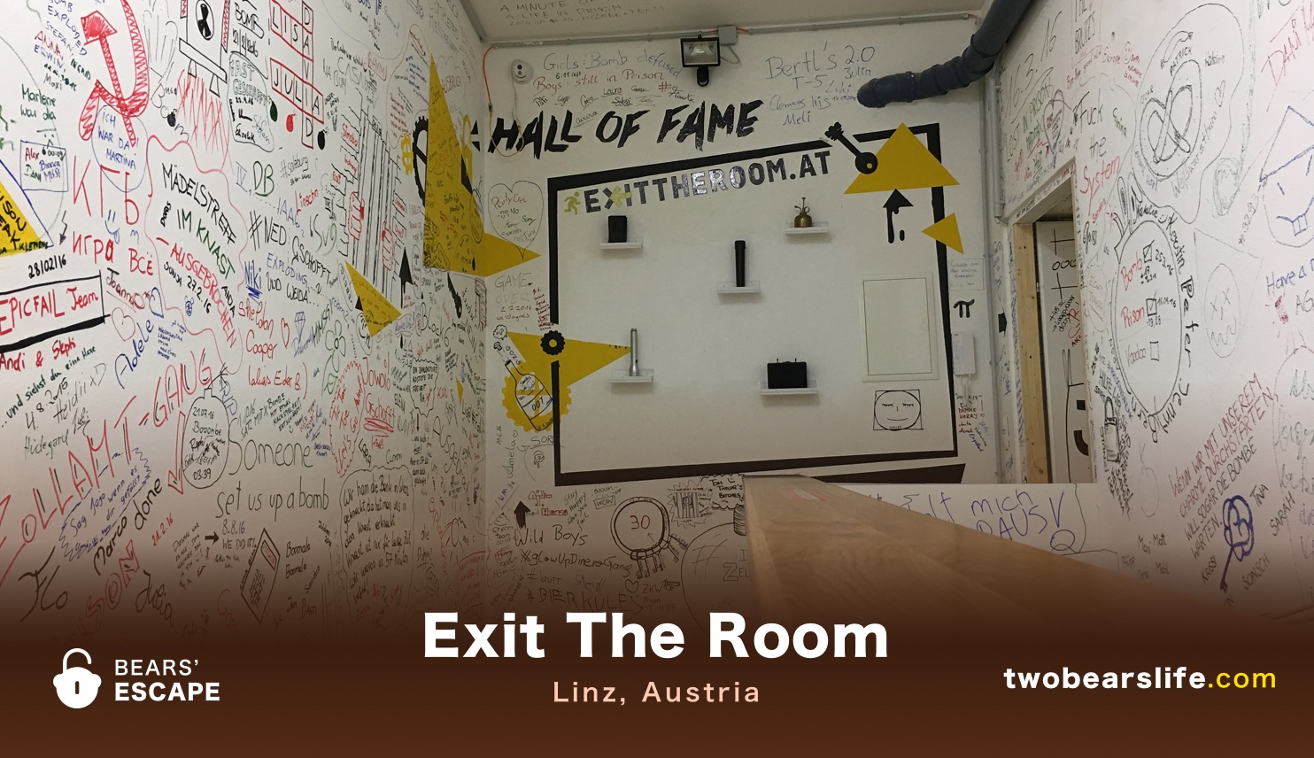Exit The Room in Linz - Escape Room Review - Two Bears\' Life