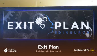 "Bears' Escape ""Exit Plan Edinburgh"""