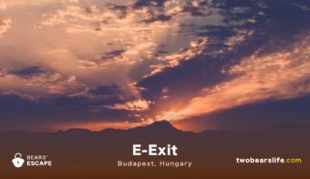 """Bears' Escape """"E-Exit"""" Budapest"""