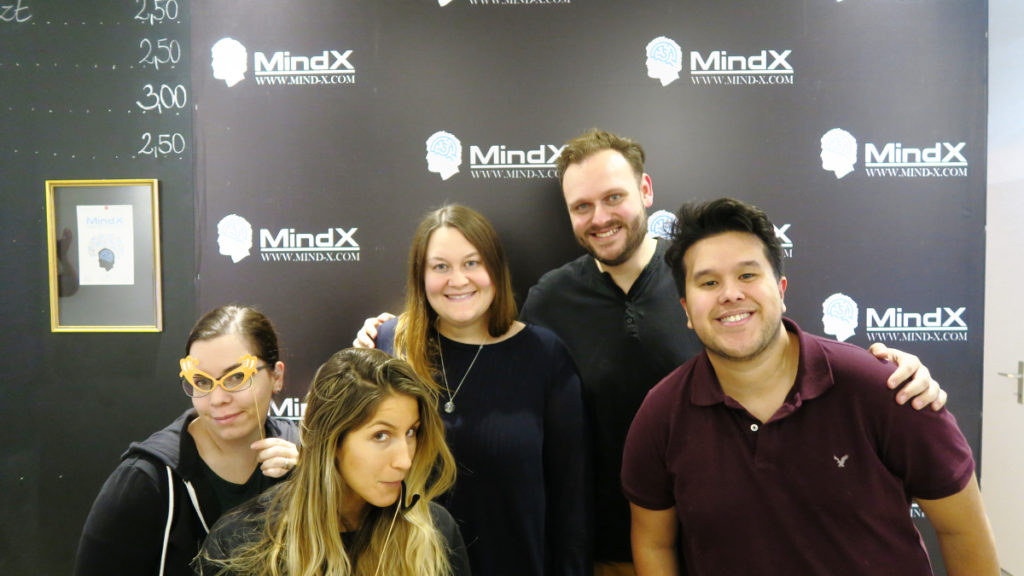 Bears Escape Expert Team Photo at MindX