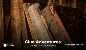 "Bears' Escape ""Clue Adventures"" in London"