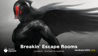 "Bears' Escape ""Breakin Escape Rooms"" in London"