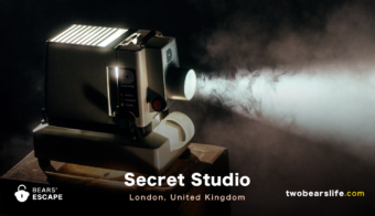 "Bears' Escape ""Secret Studio"" in London"