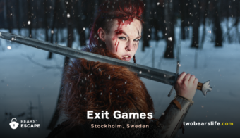 "Bears' Escape ""Exit Games"" in Stockholm"