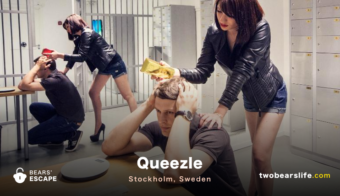 "Bears' Escape ""Quezzle"" in Stockholm"