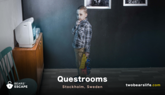 "Bears' Escape ""Questrooms"" in Stockholm"