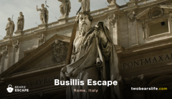 "Bears' Escape ""Busillis Escape"" in Rome"