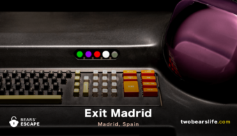 """Exit Madrid"" in Madrid"