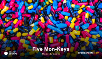 """Five Mon-Keys"" in Madrid"
