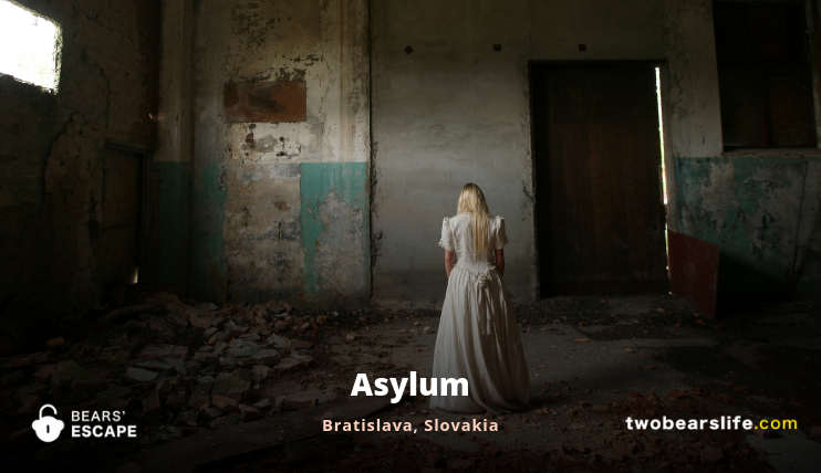 Asylum Bratislava - Escape Room Review - Two Bears Life