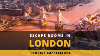 Escape Rooms in London - Tourist Impressions