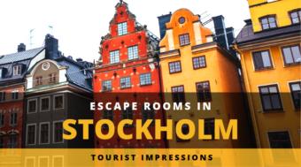 Escape Rooms in Stockholm - Tourist Impressions