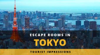 Escape Rooms in Tokyo - Tourist Impressions
