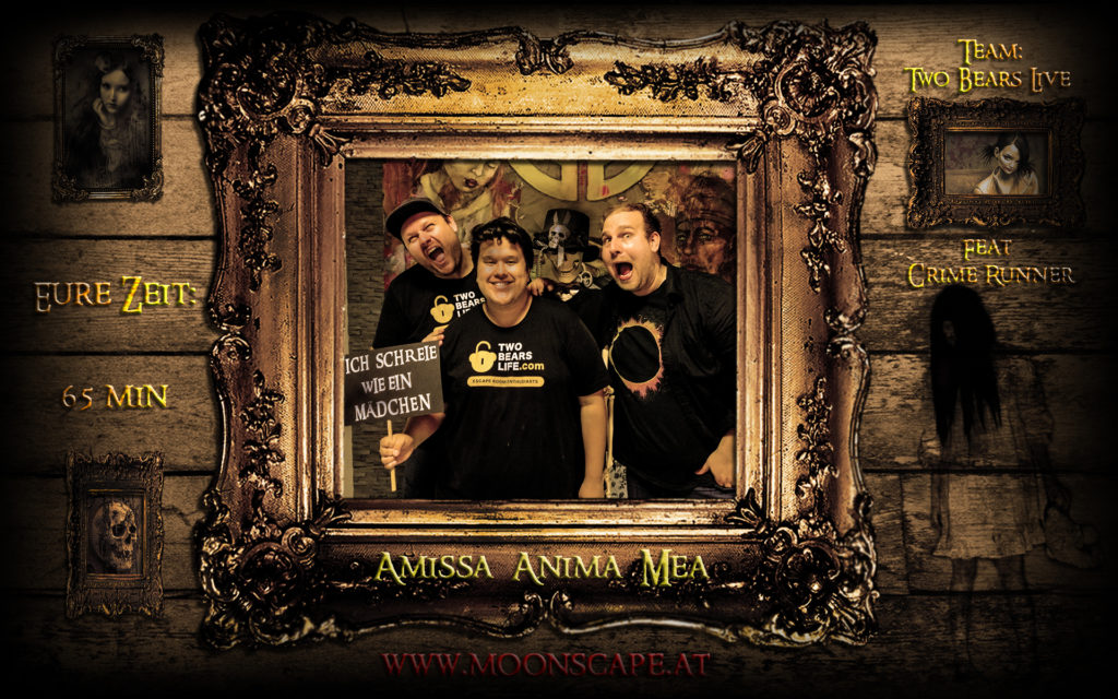 Moonscape: Amissa anima mea - Two Bears Life Teamphoto